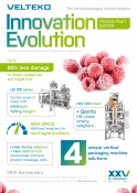 Velteko vertical packaging machines Frozen fruit