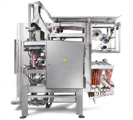 Vertical packaging machine HSV 440 side